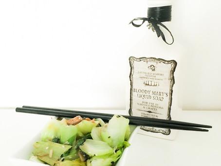 Recette veggie hyper rapide - Very quick veggie receipt