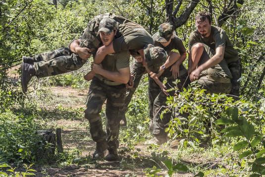 Gameways Anti-Poaching Training carry te