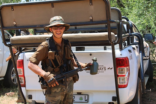 Donate $2,800 (Ranger Training + 3 Month's Protection)