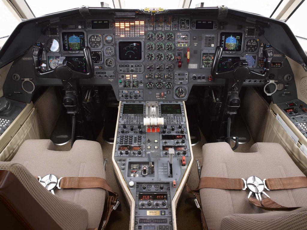 N999EH Cockpit