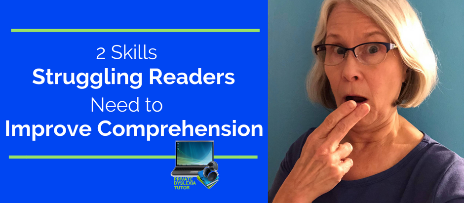 """""""Visualizing For Reading  Comprehension""""  2 Skills Struggling Readers Need to Improve Comprehension"""