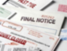 Final Notice Past Due Bills Debt Collect