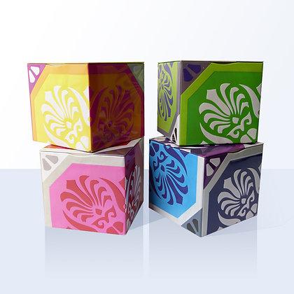 4 boîtes à thé azuleros