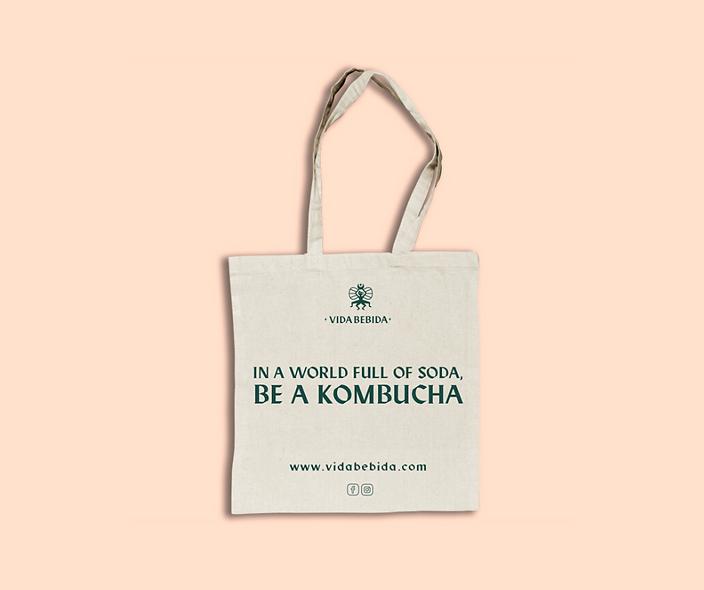 Tote Bag Be a Kombucha