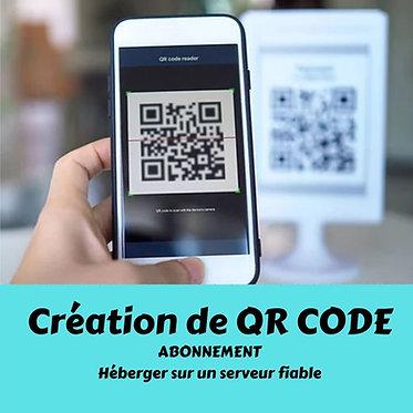 Abonnement QR Code