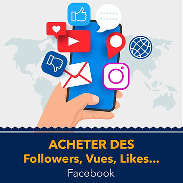Acheter des Followers ou Likes Facebook
