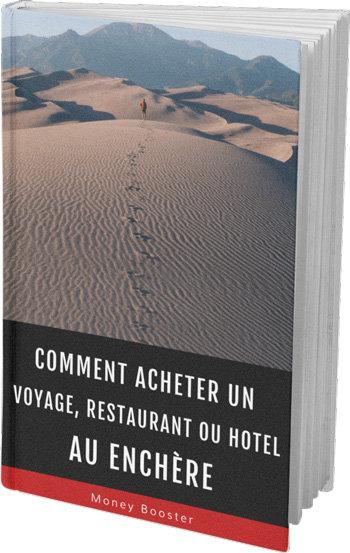Acheter des voyages, restaurants, hôtels au Enchère