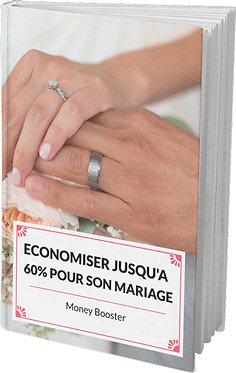 Economiser jusqu'à 60% pour son mariage