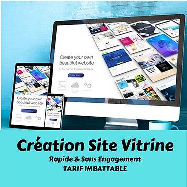 Création d'un site Vitrine