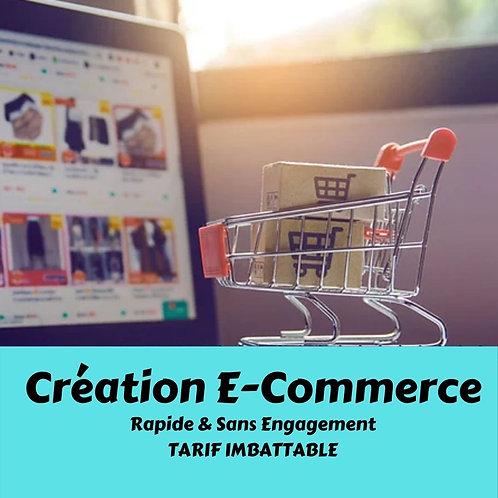 Création d'un site Boutique