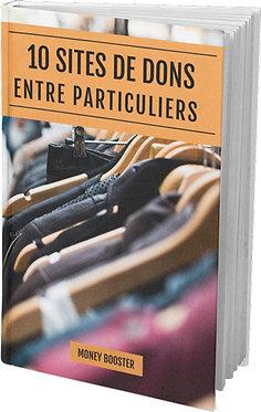Dons Entre Particuliers (Argent, vêtement ou Objet)