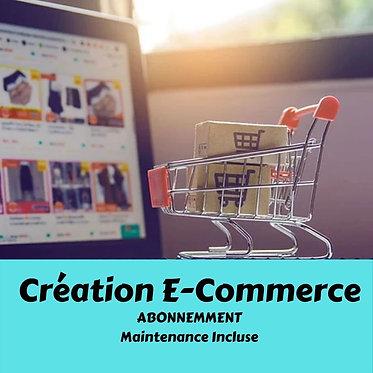 Création d'un site Boutique en abonnement