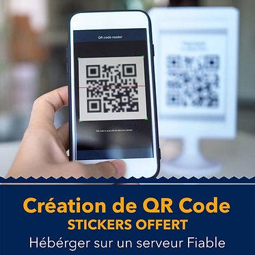 Création de QR Code pour Restaurant, Bar, Boutique...