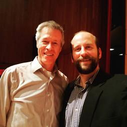 Wonderful having a master class with Nashville Opera's Dean Williamson.