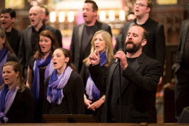 soloing with Memphis Men's and Women's Chorale