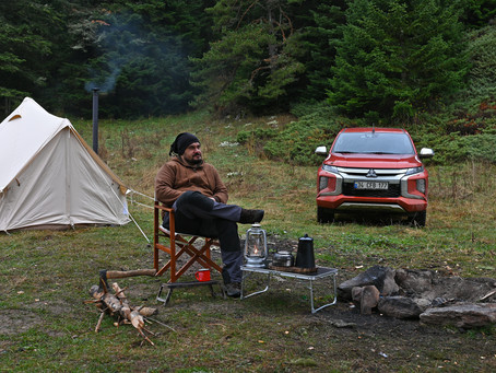 Safety while camping alone