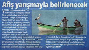 Hürriyet Newspaper - Bursa Edition