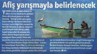 Hürriyet Newspaper - Bursa Edition