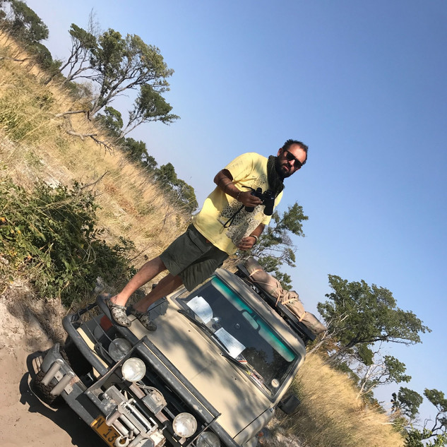 Filming Namibia Diaries