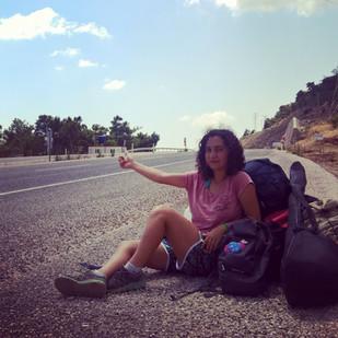 Merve, the hitchhiker