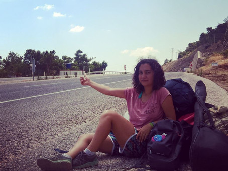 I love to hitchhike says Merve