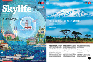 Skylife Magazine Issue #384 [Turkish Airlines Inflight Magazine]