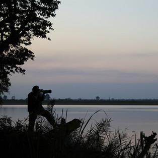 Backlit Photographer