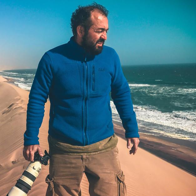 Where the Atlantic meets the Namib Desert