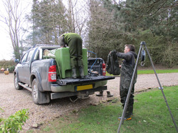 Fish stocking 2021, Lakeview lodge, Leicestershire.