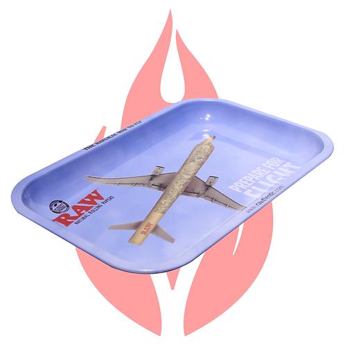 Charola Mediana Raw Avión de porros