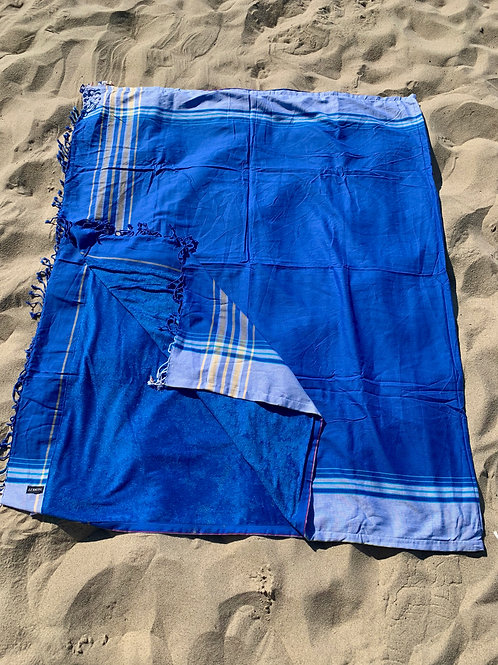 kikoy xl size beach towels beach towel blue