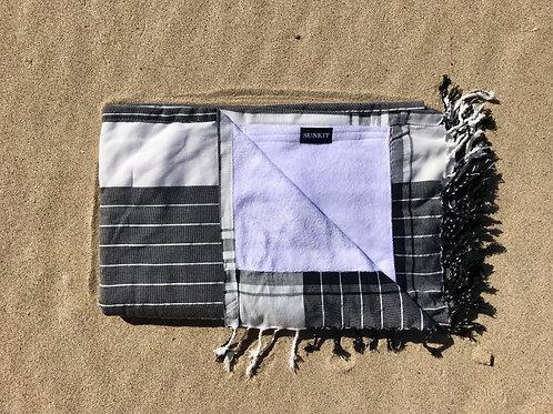 Sunkit Kikoy stripy white