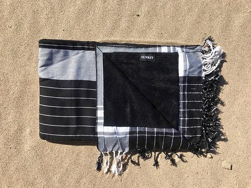 Sunkit Kikoy stripy black