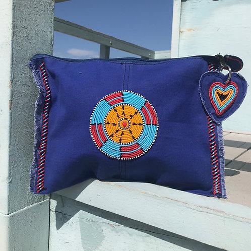 Sunkit Clutch blue inca