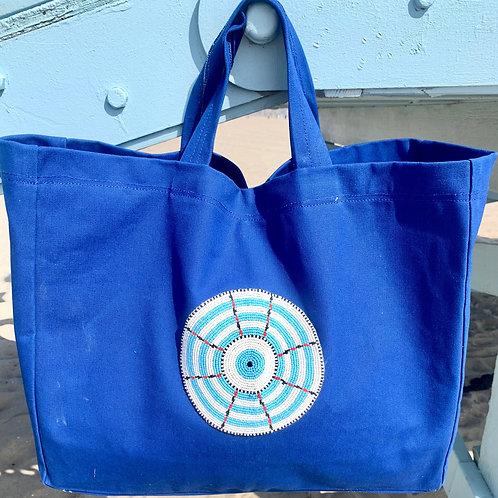 Sunkit Beach Bag blue turquoise