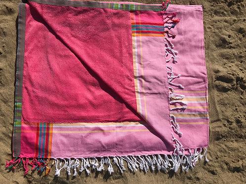 XL Size Sunkit Kikoy light pink