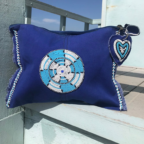 Sunkit Clutch blue turquoise
