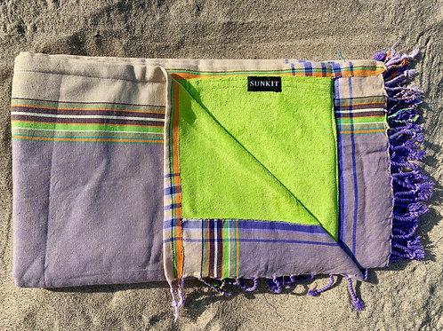 Sunkit Kikoy beach towel grey