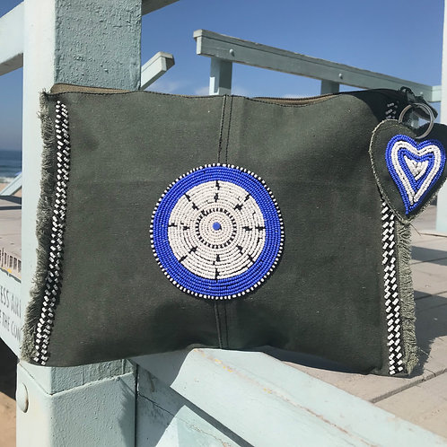 Sunkit Clutch olive anchor