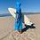 Thumbnail: Sunkit Kikoy Surf Poncho changing turquoise