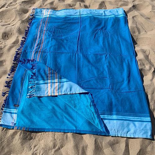 kikoy xl size beach towel turquoise