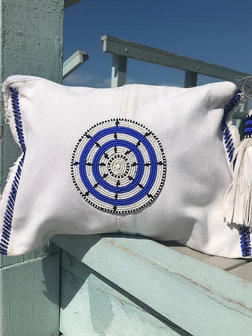 Sunkit Clutch white blue