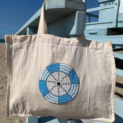 Sunkit Bag sail cloth turquoise