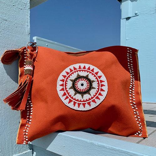 Sunkit Clutch orange sun red