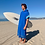 Thumbnail: Sunkit Kikoy Surf Poncho changing blue