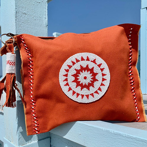 Sunkit Clutch orange red