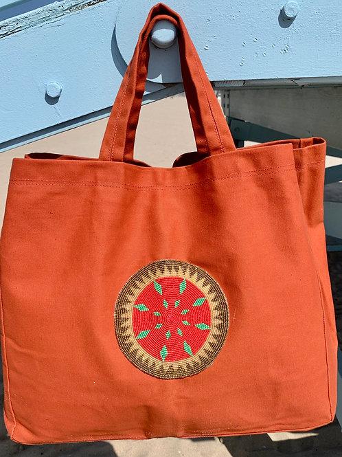 Sunkit Beach Bag orange solar