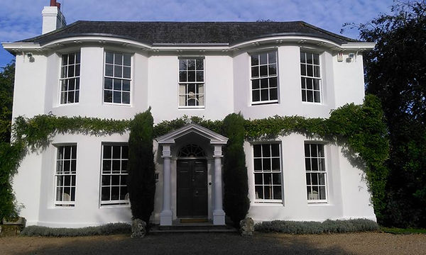 exterior house painting and decorating in sussex