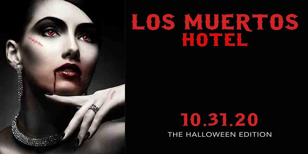 """LOS MUERTOS HOTEL """"THE HALLOWEEN'S BEACH CLUB  EDITION'"""