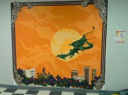 Fred Moore High School Mural